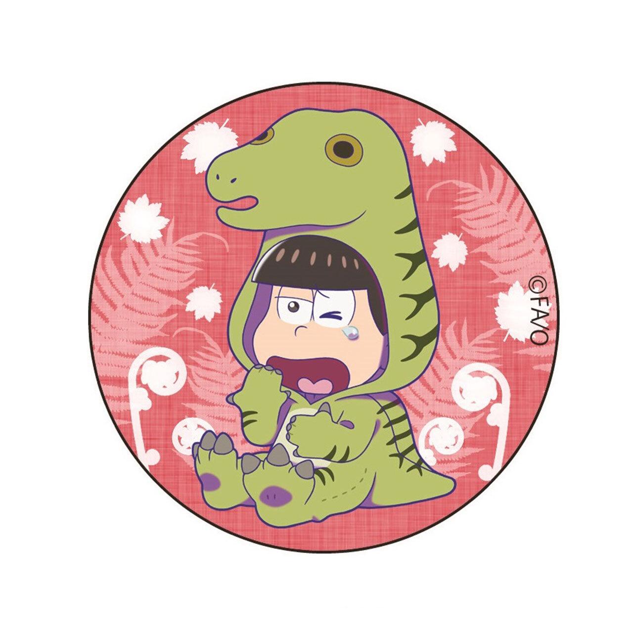 【4589839356916予】おそ松さん フクイサウルス おそ松 缶バッジ