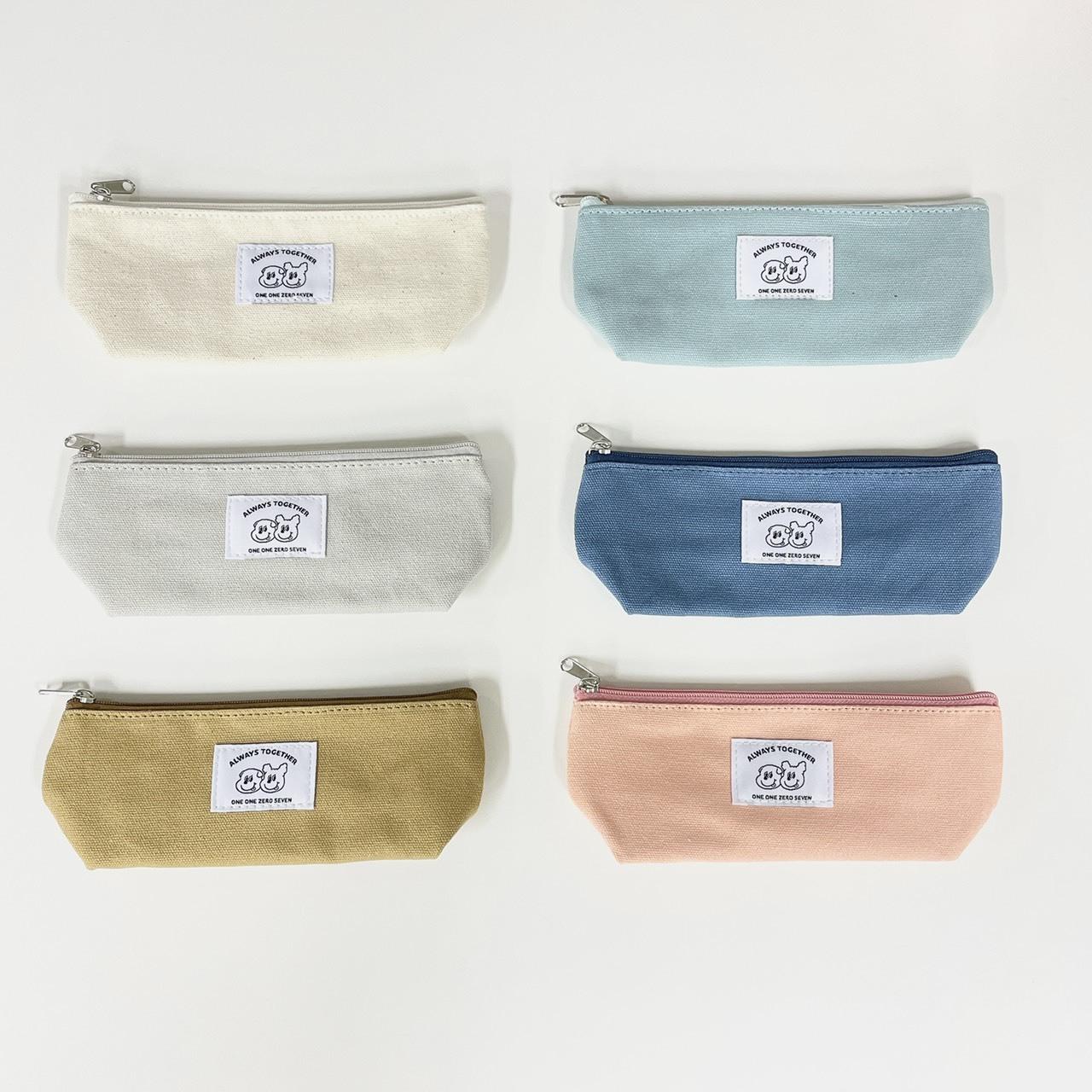 ゴンチル ファブリックペンケース (全6色)