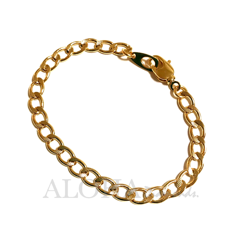 ●●● The chain - No.5 ●●● ゴールド/ブレスレット (ブレスレット単品)