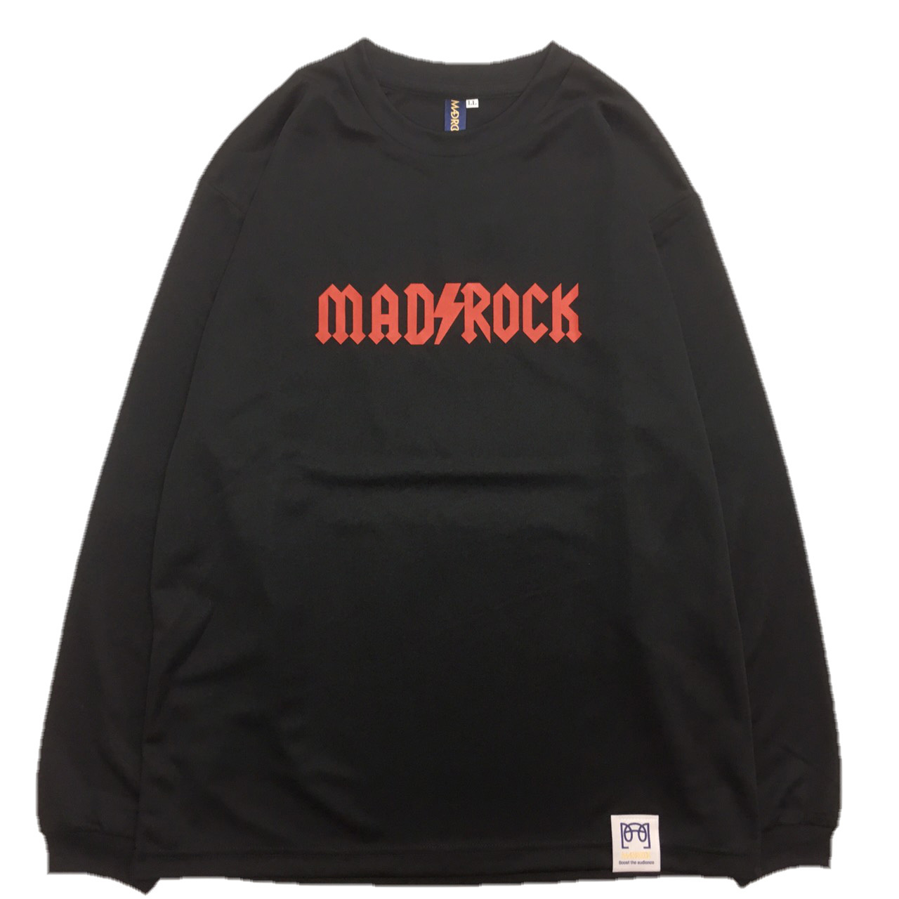 マッドロック / AMPERE(アンペア) LOGO ロンT / ドライタイプ / ブラック