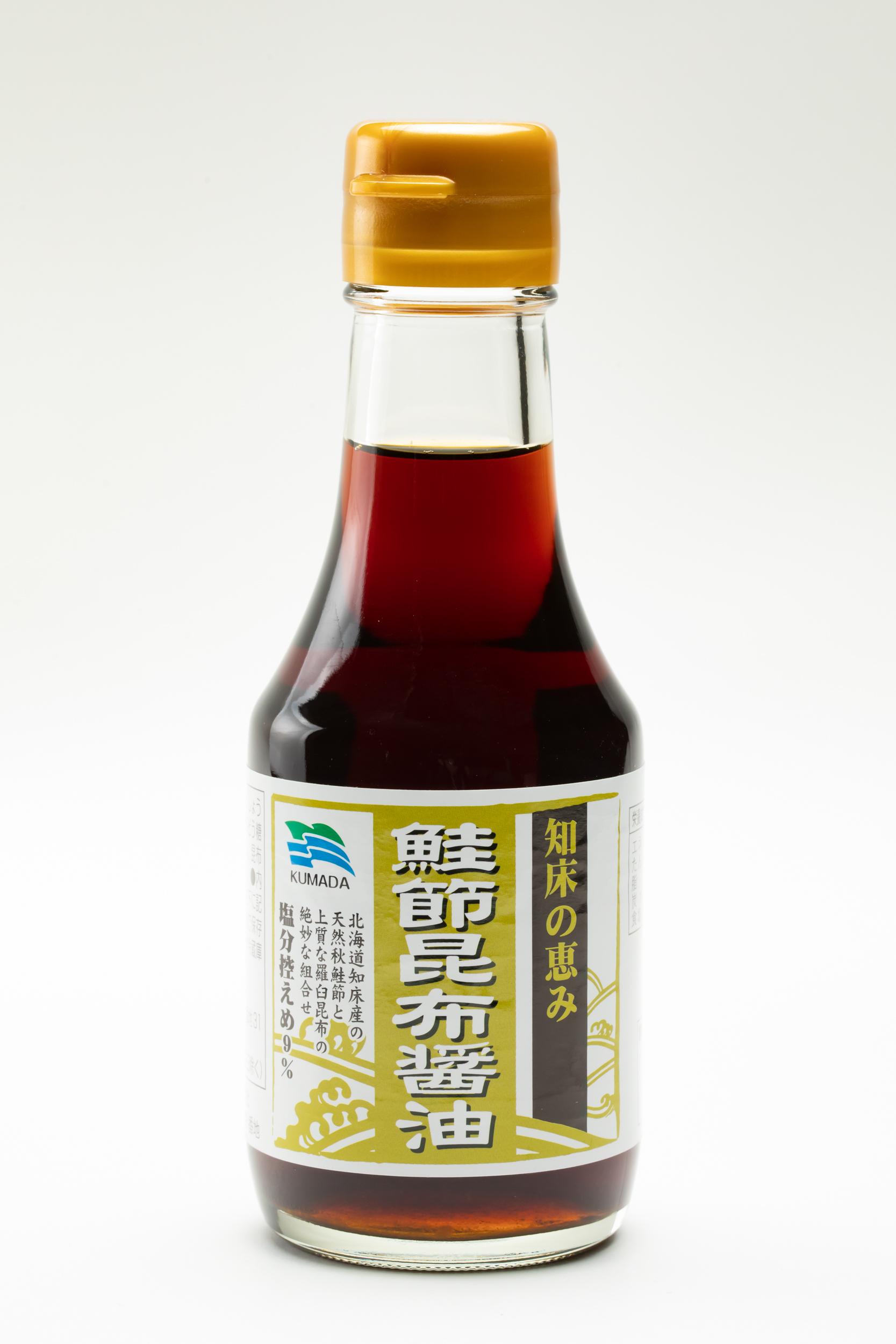 くまだ様 知床の恵み 鮭節昆布醤油150ml