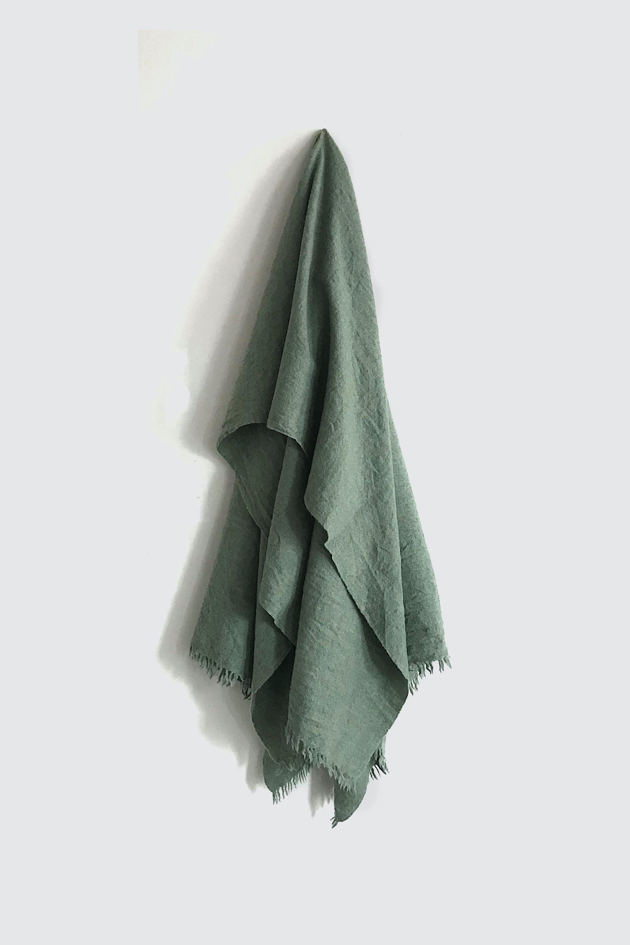 01471-3 muji stole / green
