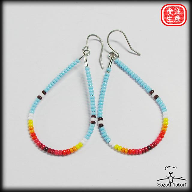 Beads Work Earring  / BER-003