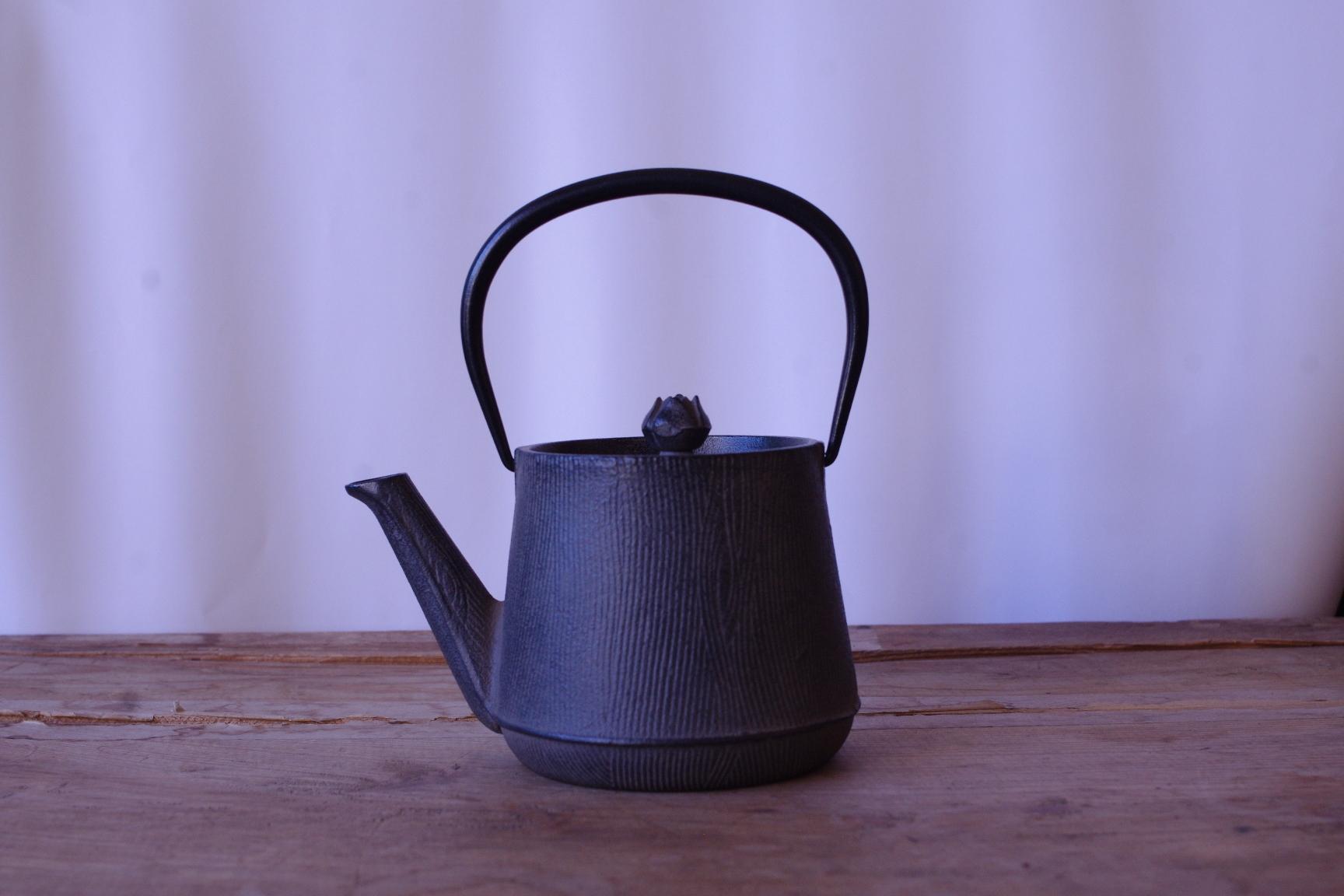 南部鉄瓶 ウッドグレイン(岩手県)