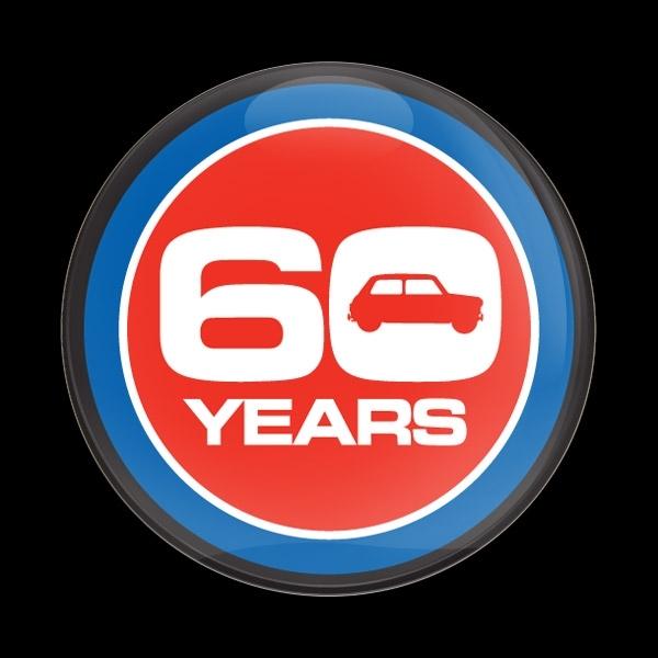 ゴーバッジ(ドーム)(CD1090 - 60 YEARS ANNIVERSARY) - 画像1