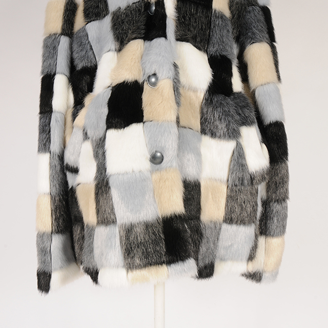 hs19AW-IR10 F/FUR COAT (black)
