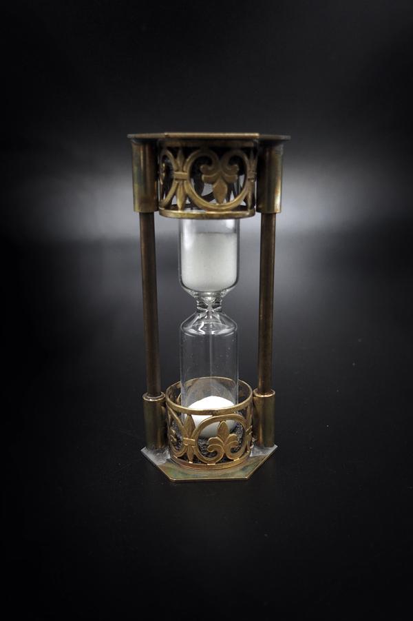 Item No.347:Hourglass :3 minutes /WHITE
