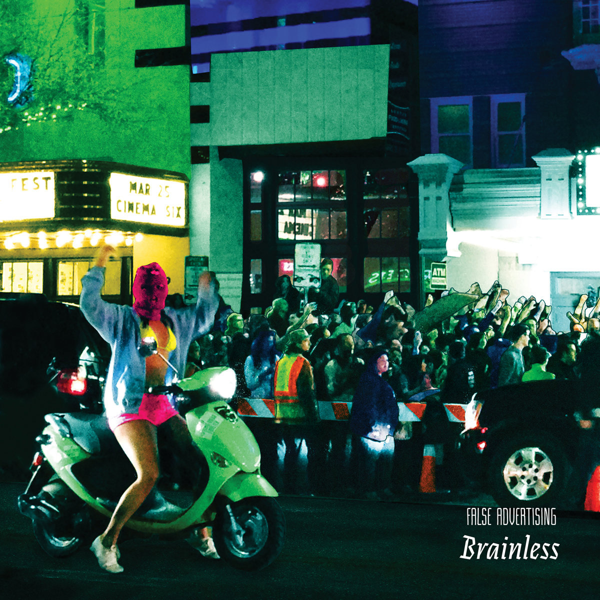 False Advertising / Brainless (CD)