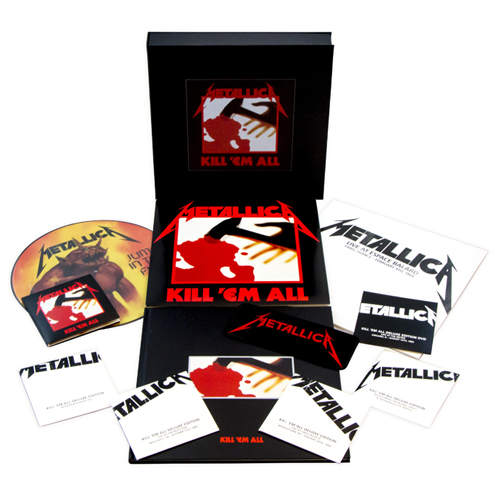 """【完全数量限定】METALLICA """"KILL 'EM ALL"""" リマスター・デラックス・ボックス・セット"""