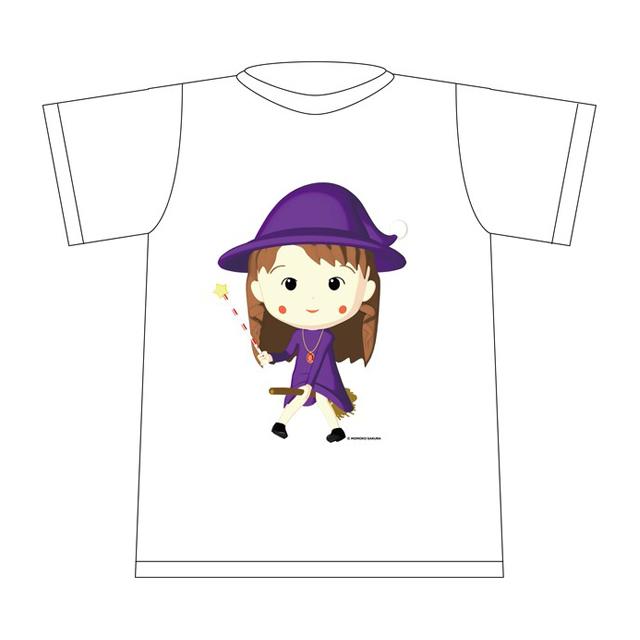 ちびまこ Tシャツ [白]