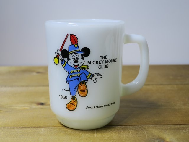 Fire King 9オンスマグ MICKEY MOUSE CLUB