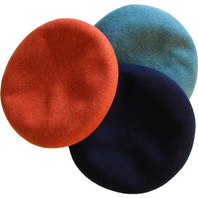 DECHO デコー  BASQUE BERET バスクベレー  11-3AD18 色のキレイなベレー帽 ユニセックス商品