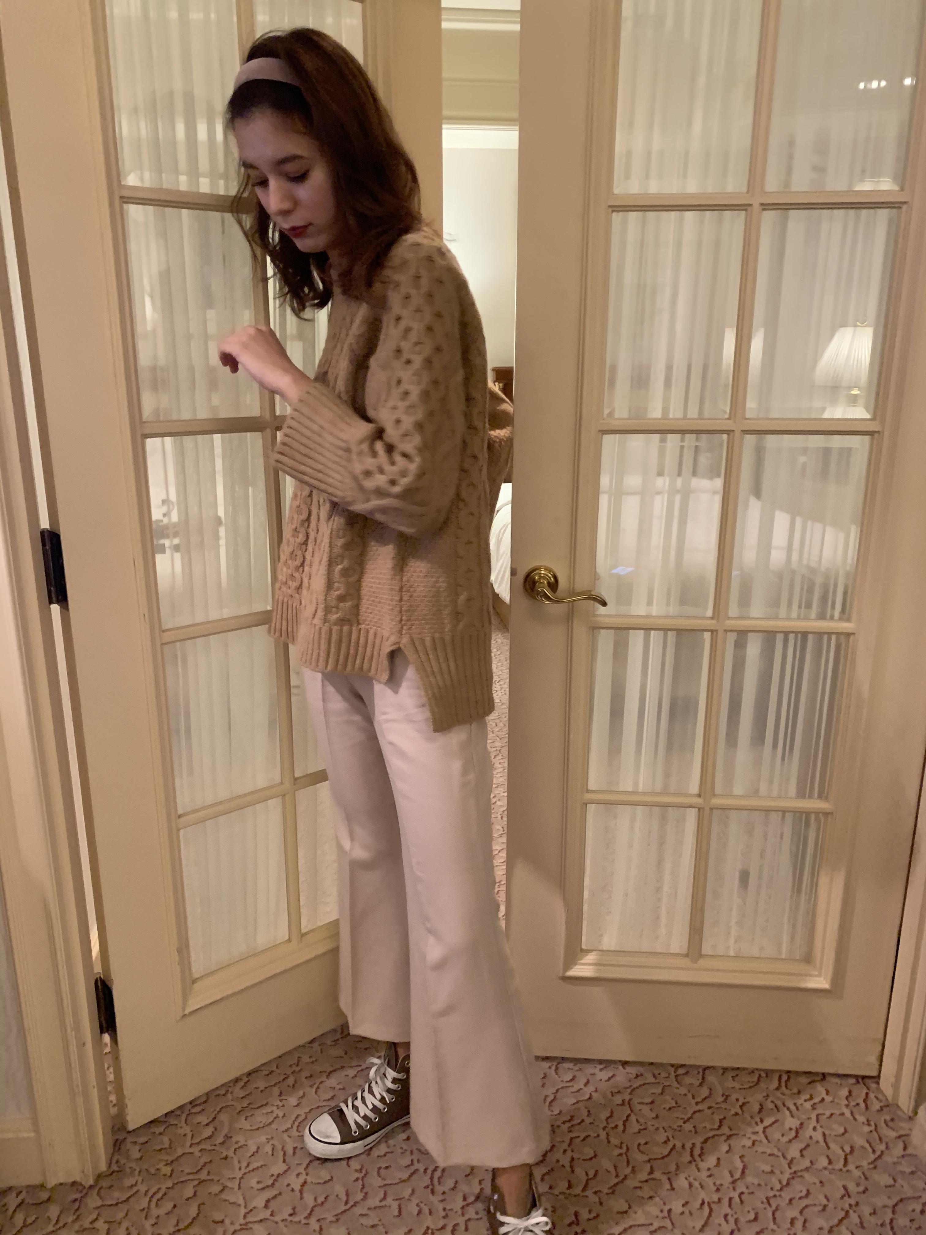 pastel colour pants
