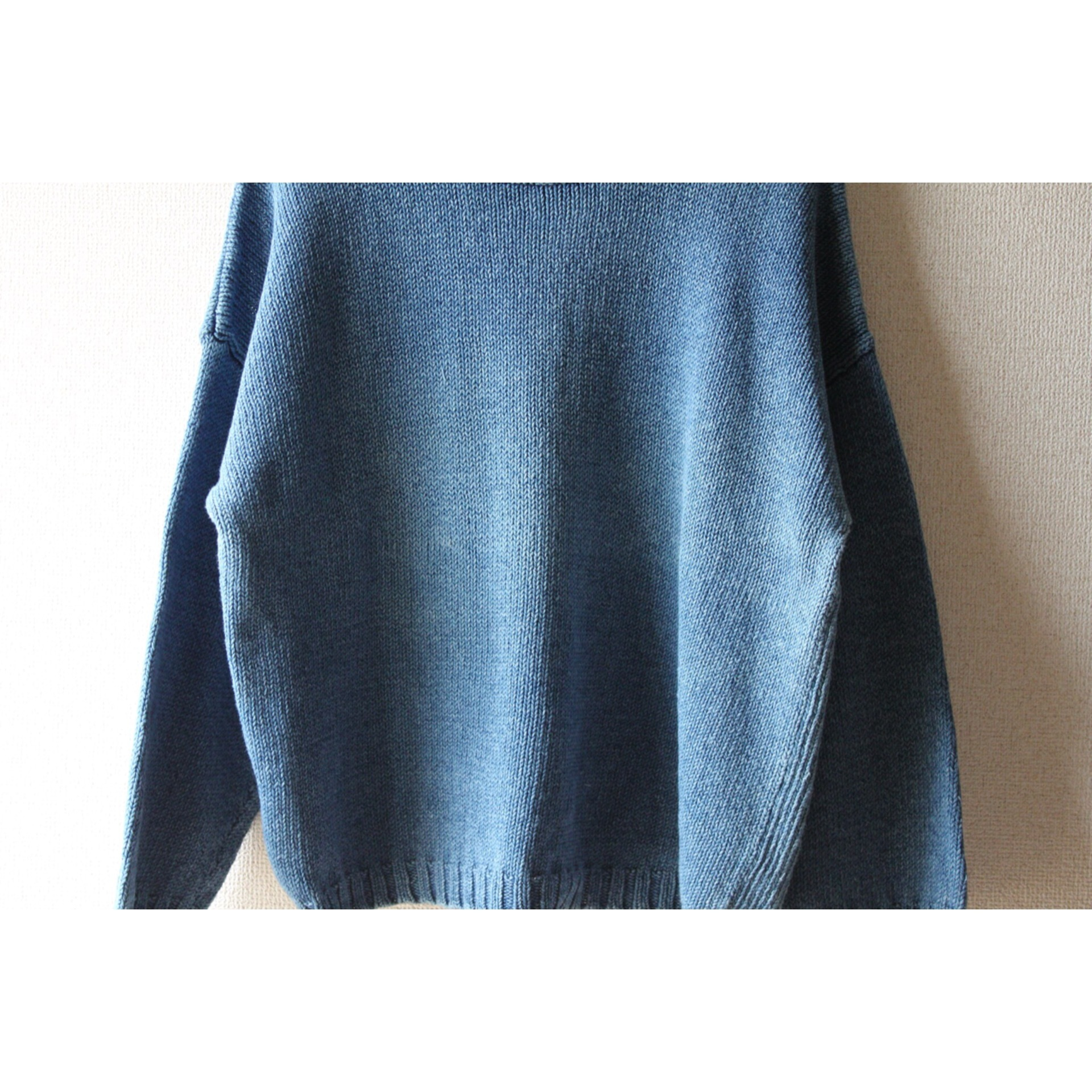 Vintage indigo sweater