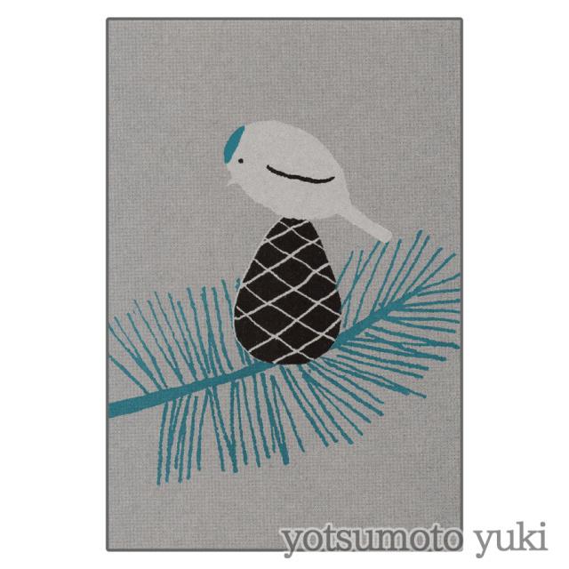 ポストカード - 松とコトリ - ヨツモトユキ - no11-yot-07