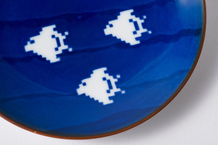 空に千鳥 小皿 / The Porcelains