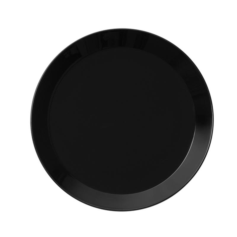 【iittala】 TEEMAティーマ フラットプレート 26cm PlatFlat BLACK