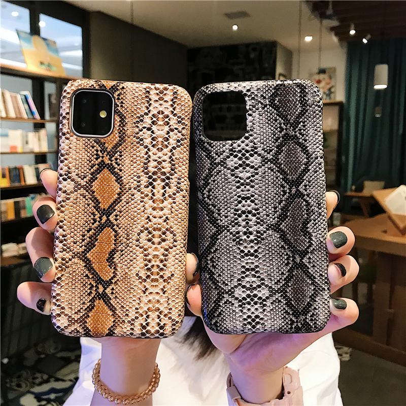 【お取り寄せ商品、送料無料】3カラー スネイク柄 アニマル ハード iPhoneケース