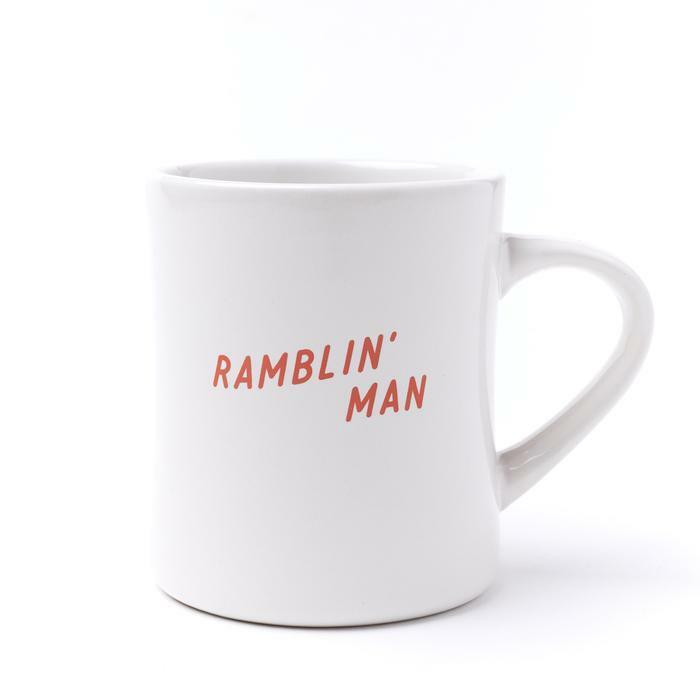 SEAGER #Ramblin' 12oz Diner Mug