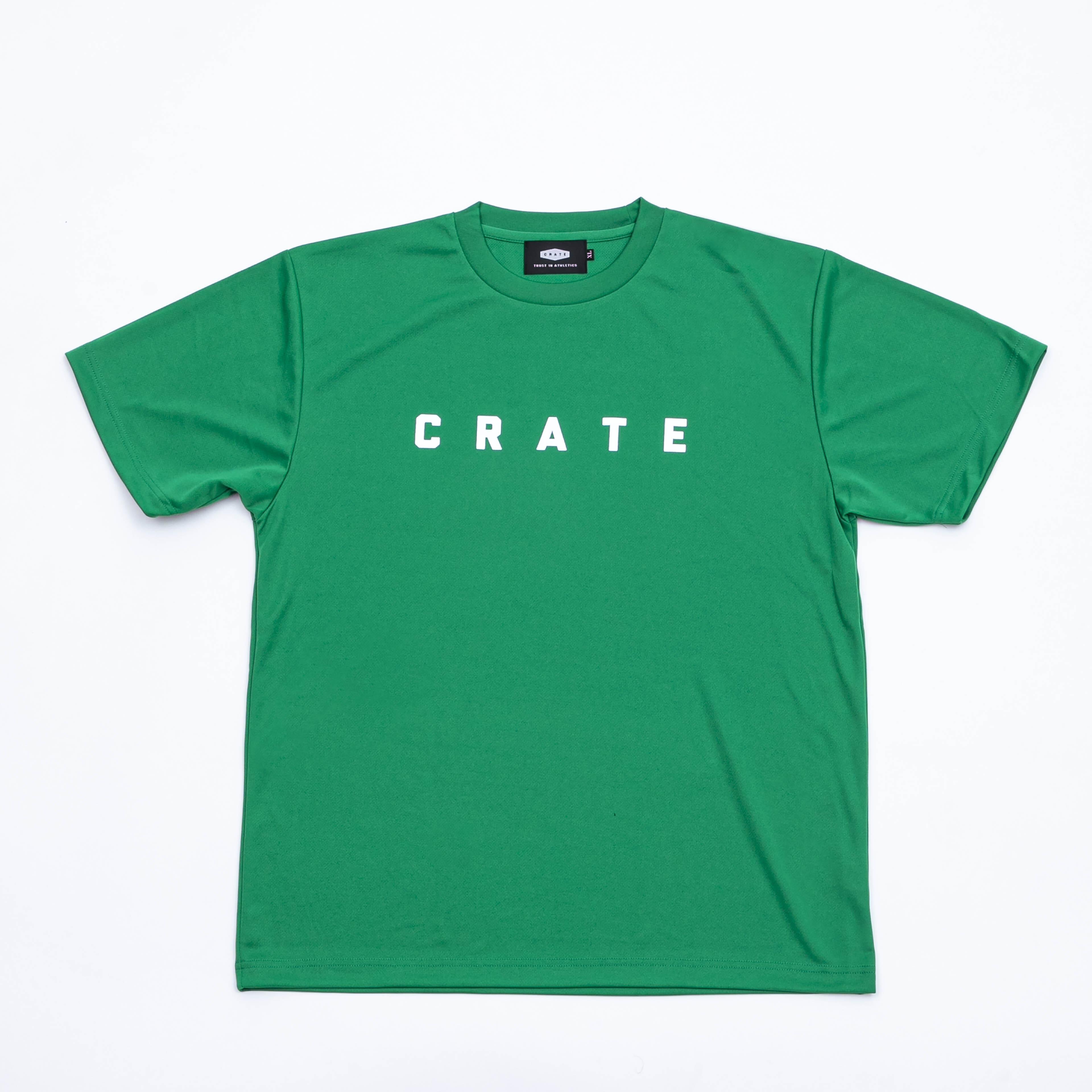 CRATE MESH Tee GREEN