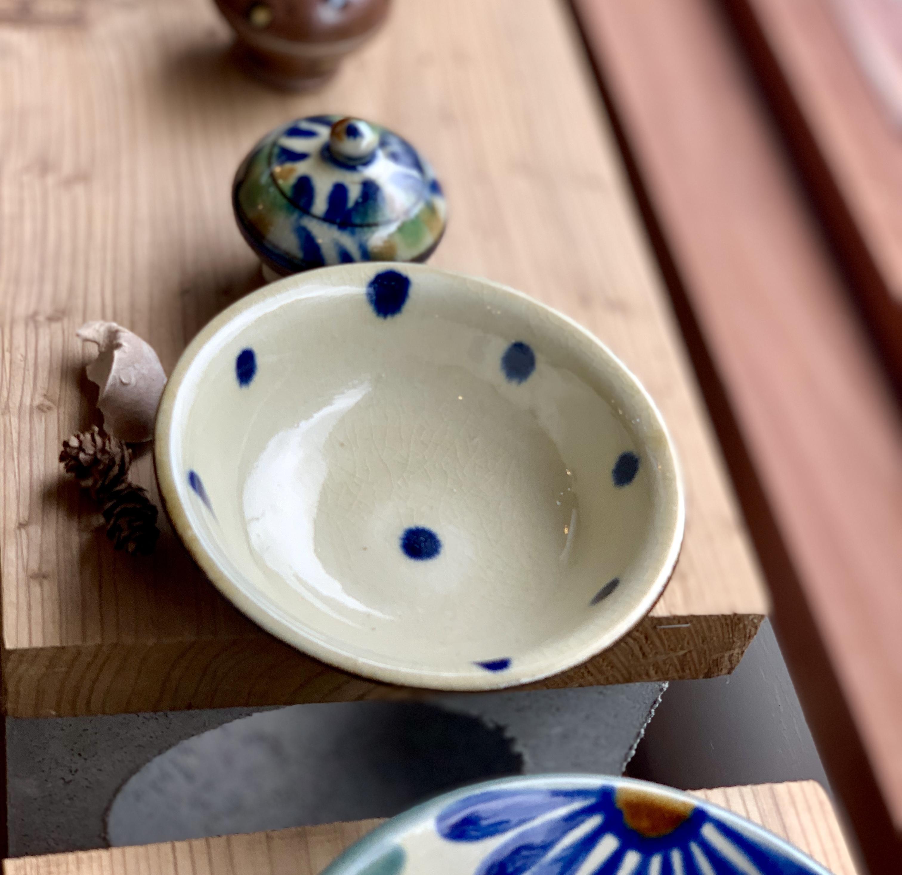 4寸鉢 浅め 福田陶器