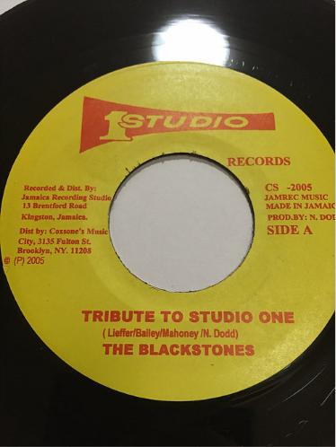 Blackstones (ブラックストーンズ) - Tribute To Studio One【7'】