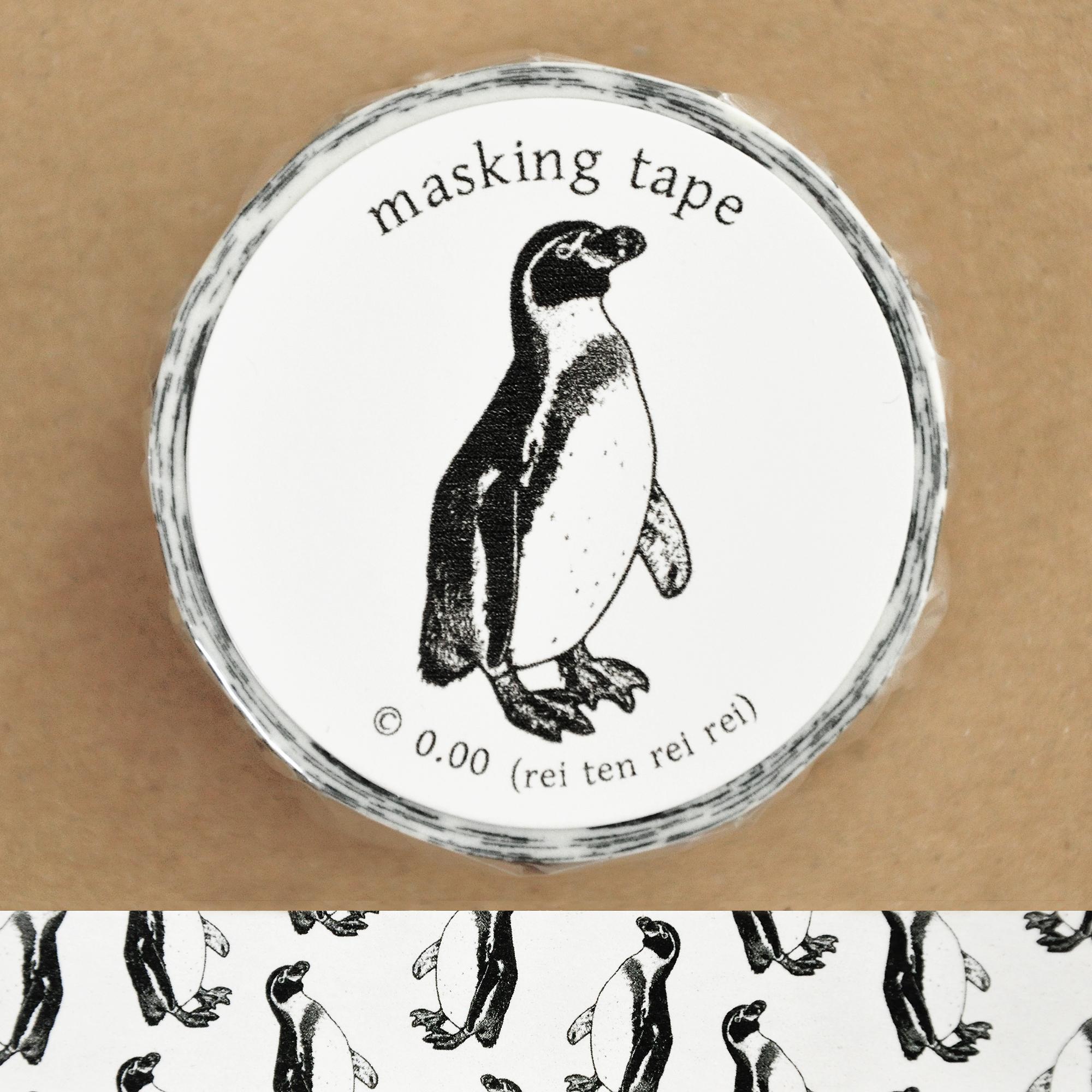 マスキングテープ(ペンギン)