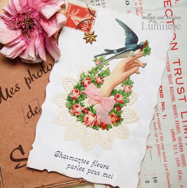 handmotif postcard