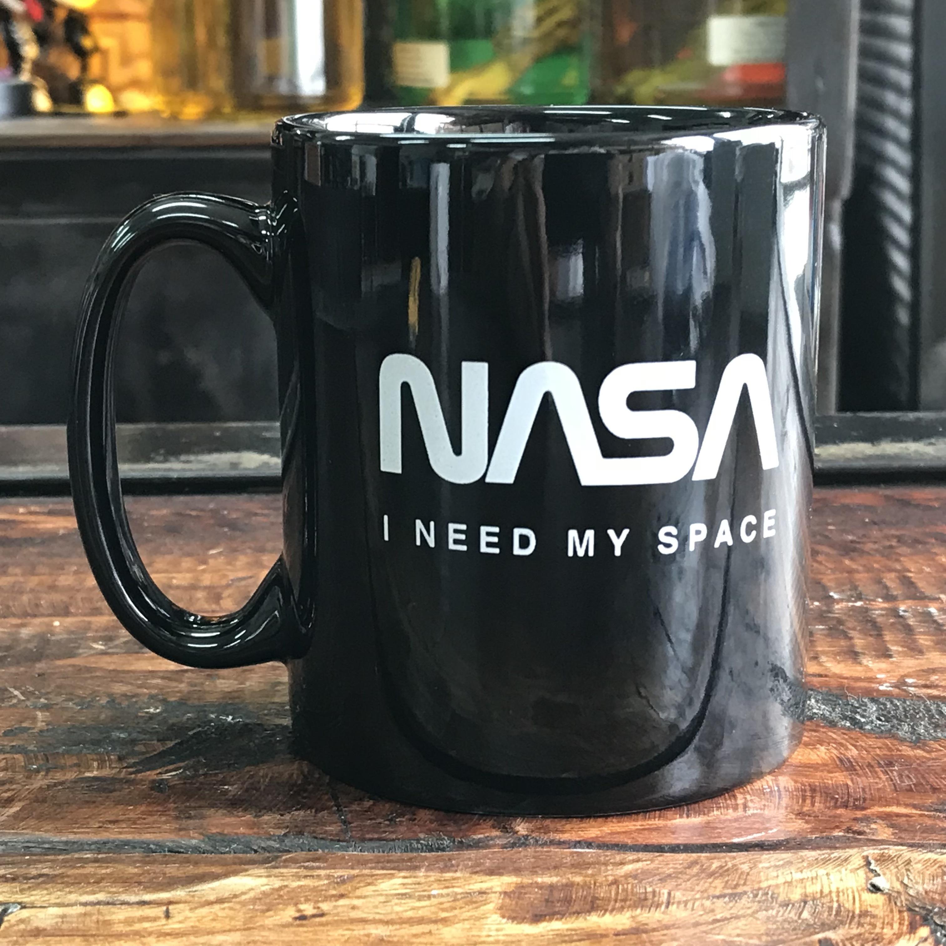NASA公認(アメリカ航空宇宙局)マグカップ・ロゴタイプ(ワーム)