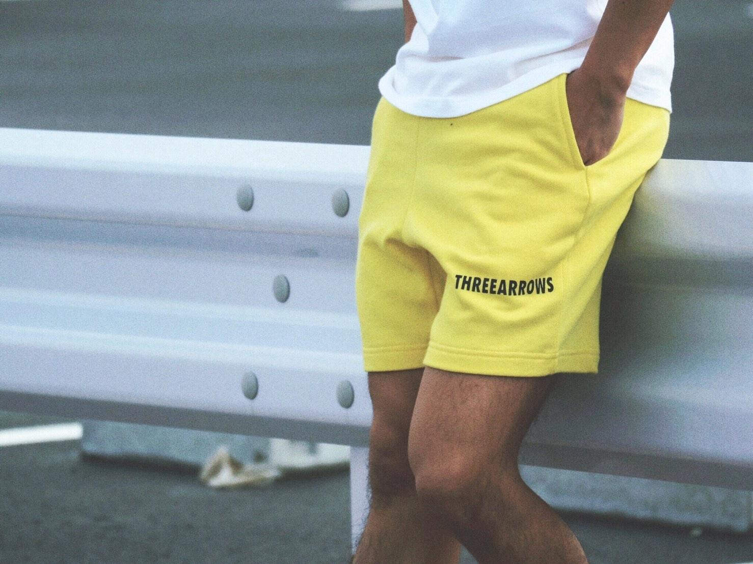 THREEARROWS スウェットパンツ(yellow)