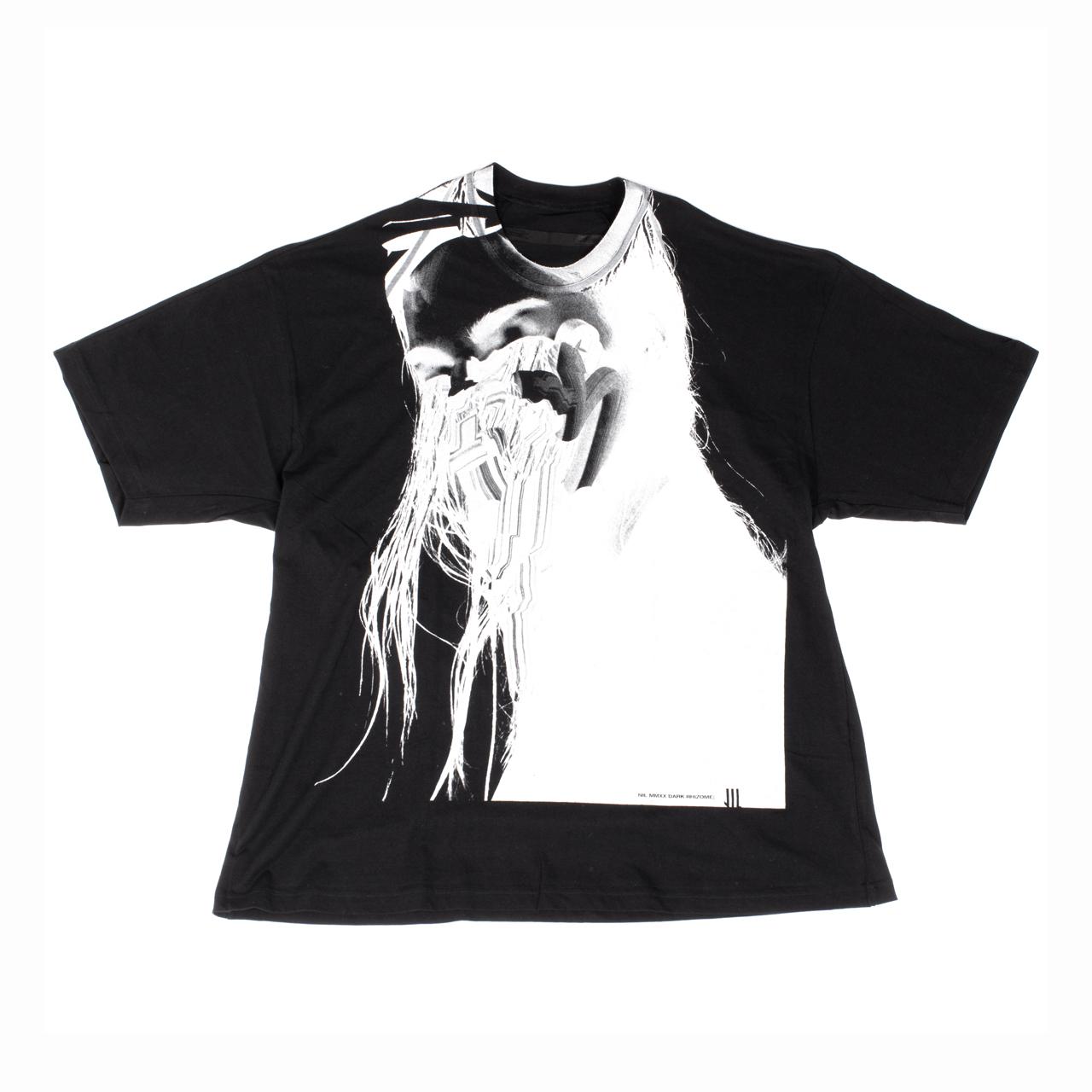 701CPM12-BLACK / Jesse Draxler プリント Tシャツ ver.2