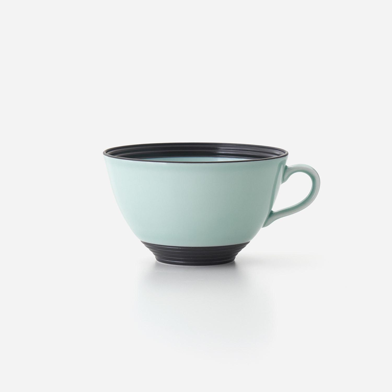 青磁黒彩 スープカップ