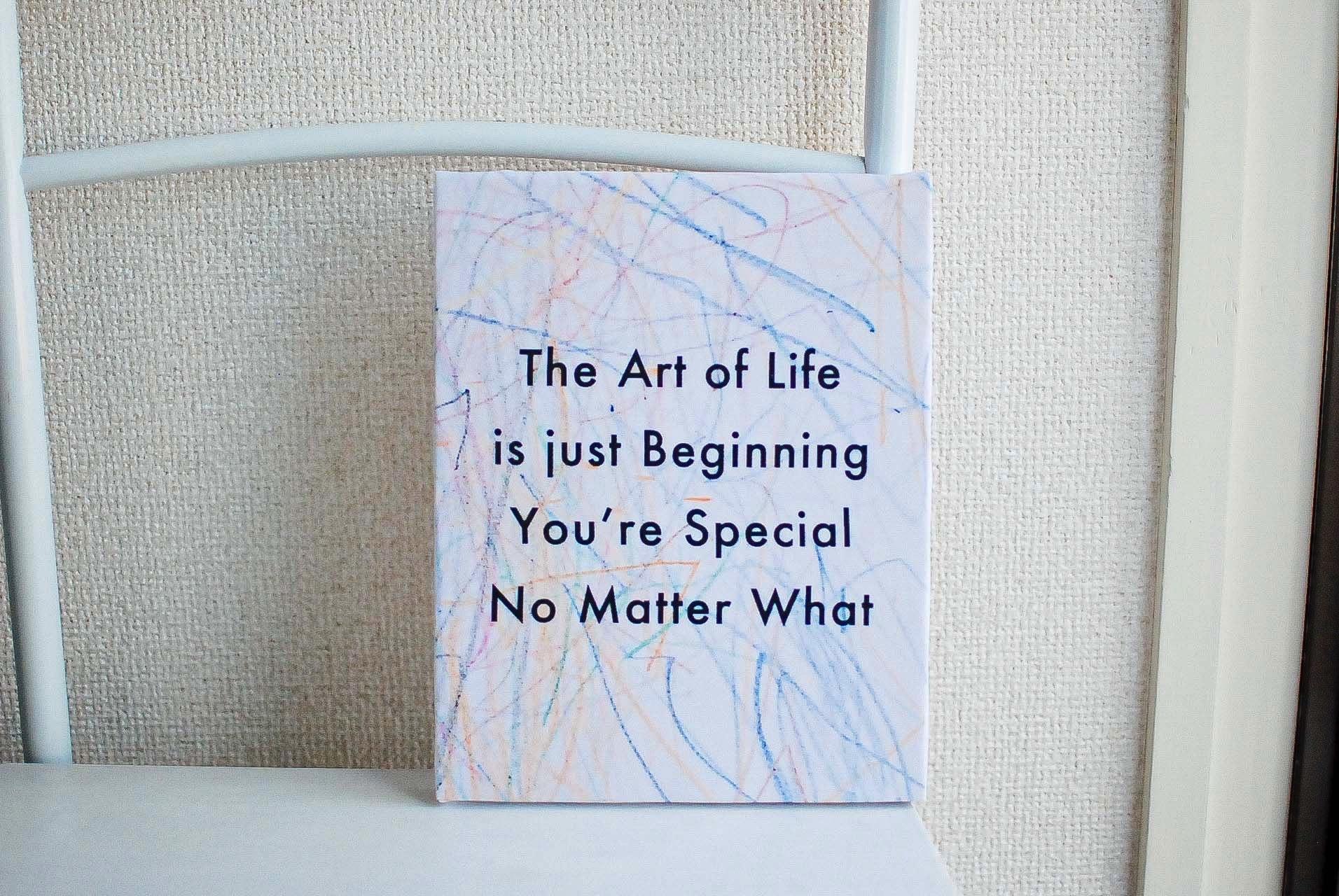 "【GOODS】""The Art Of Life"" Canvas art replica"