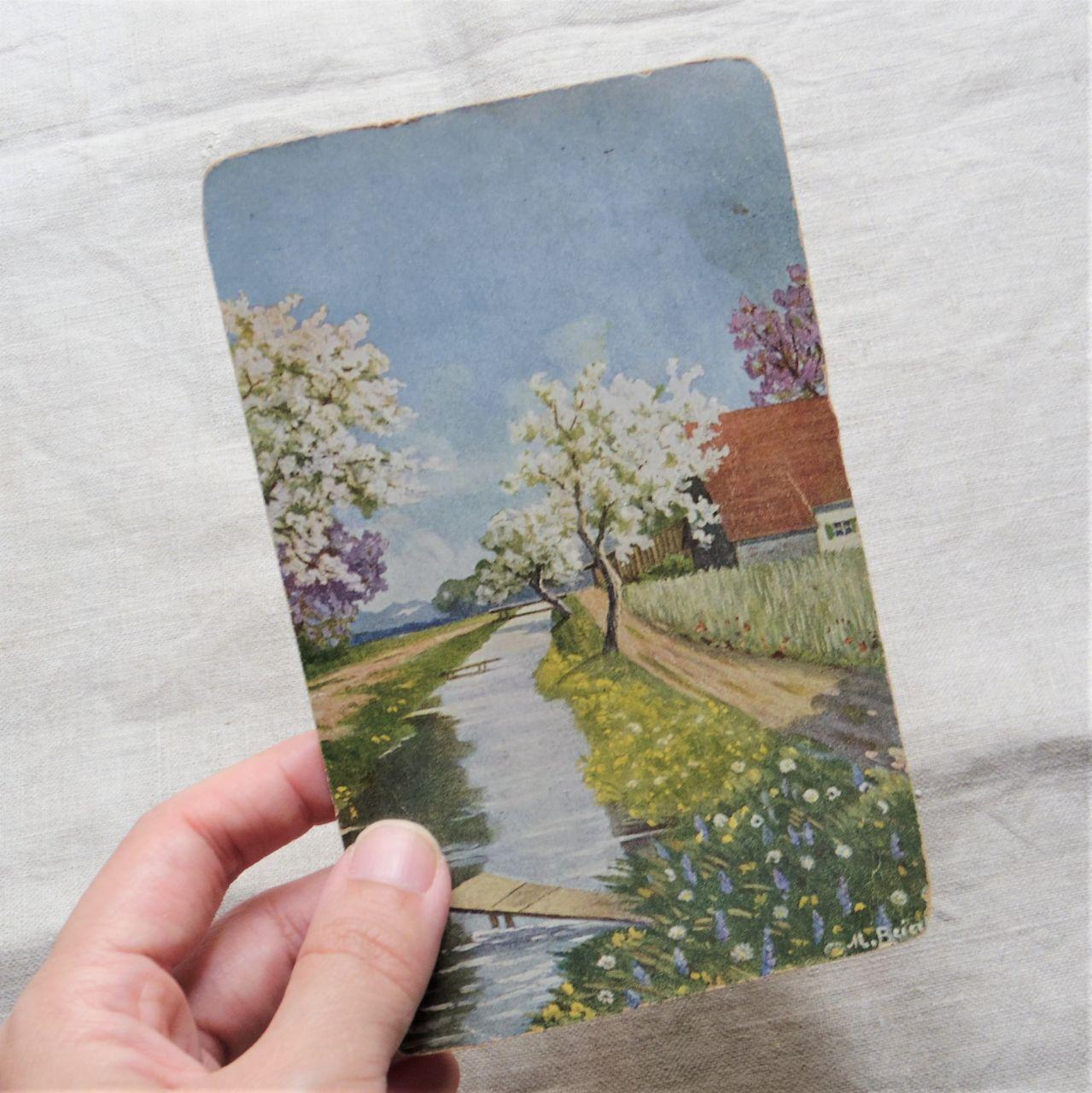 #エア蚤の市 風景のポストカード④