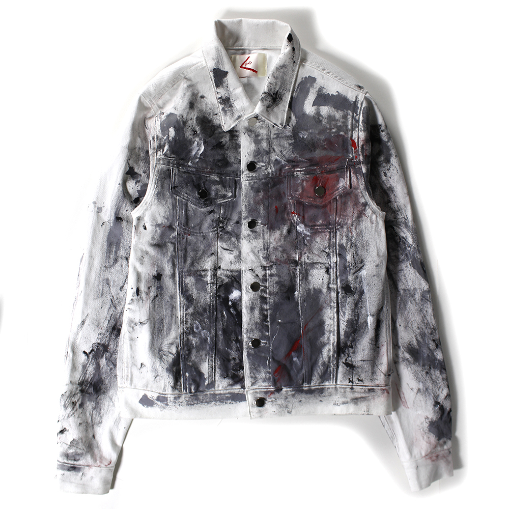 BOND paint denim jacket