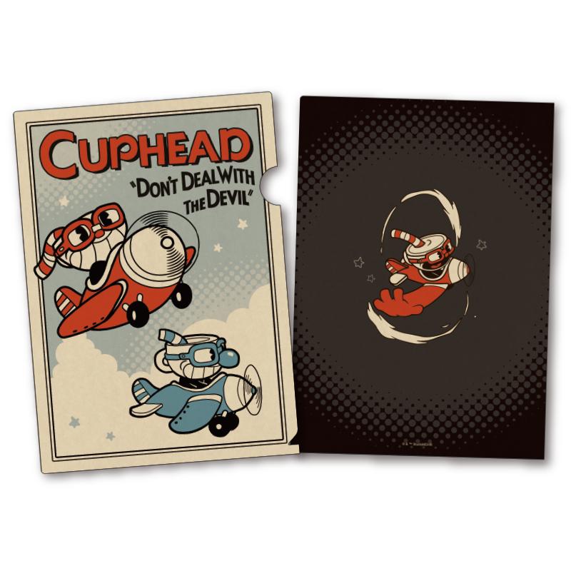 CUPHEAD ( カップヘッド )   A4クリアファイル  (5)  / エンスカイ