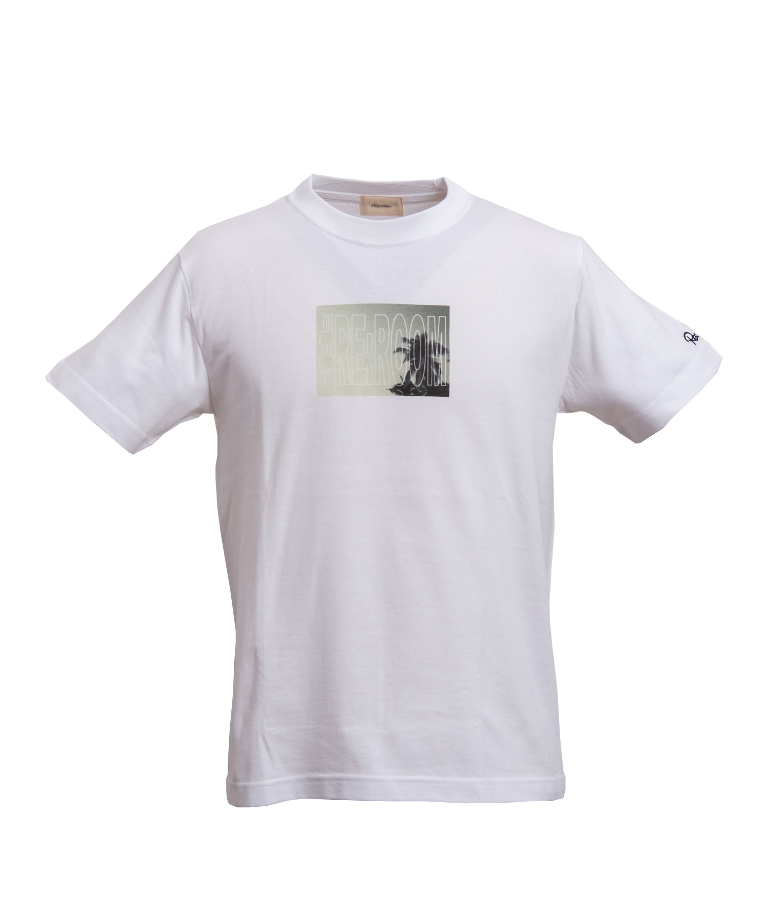 PALM TREE SMALL PHOTO LOGO T-shirt[REC216]
