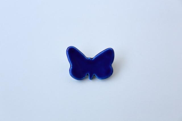 橋本尚美 ブローチ 蝶々