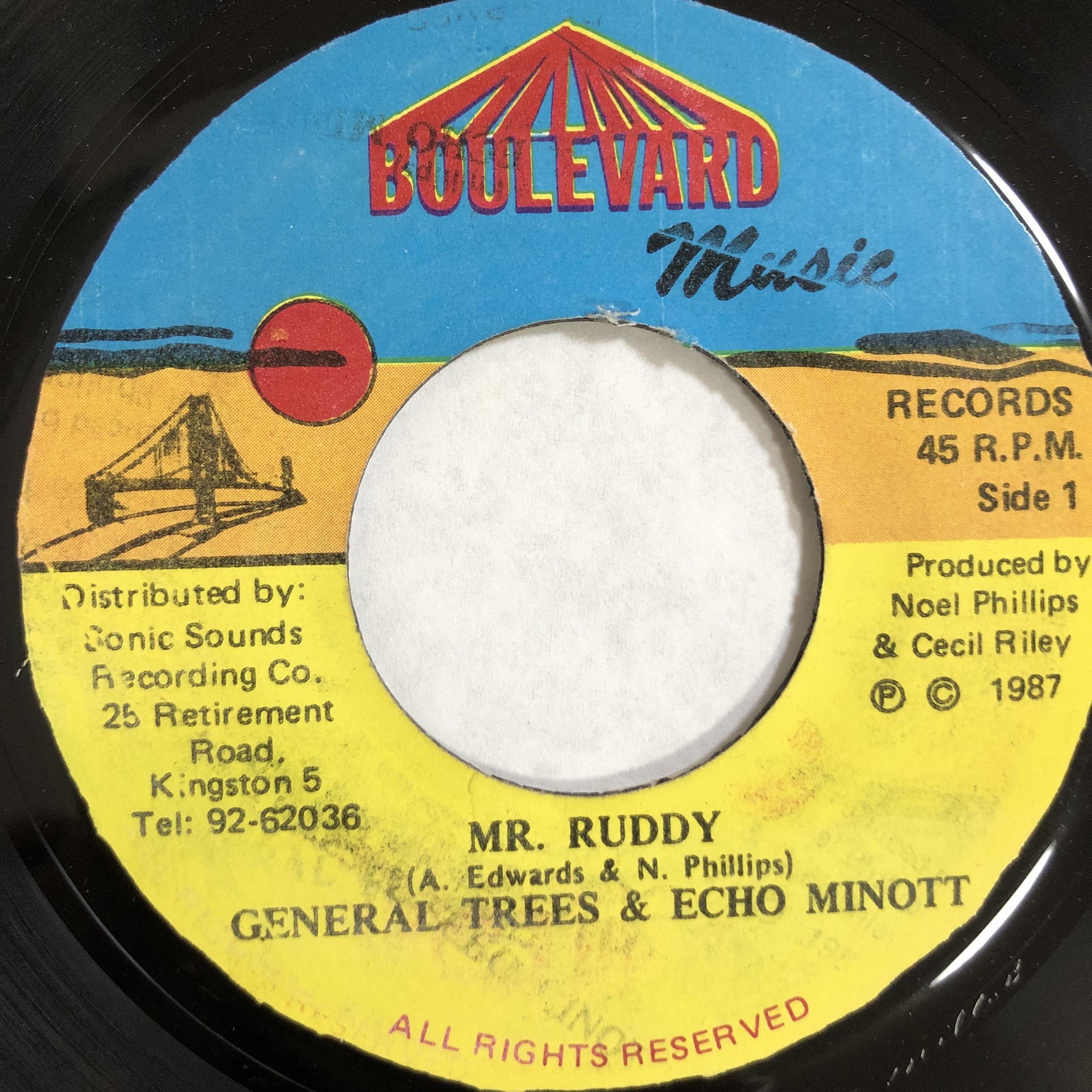 Echo Minott & General Trees – Mr Ruddy【7-20125】