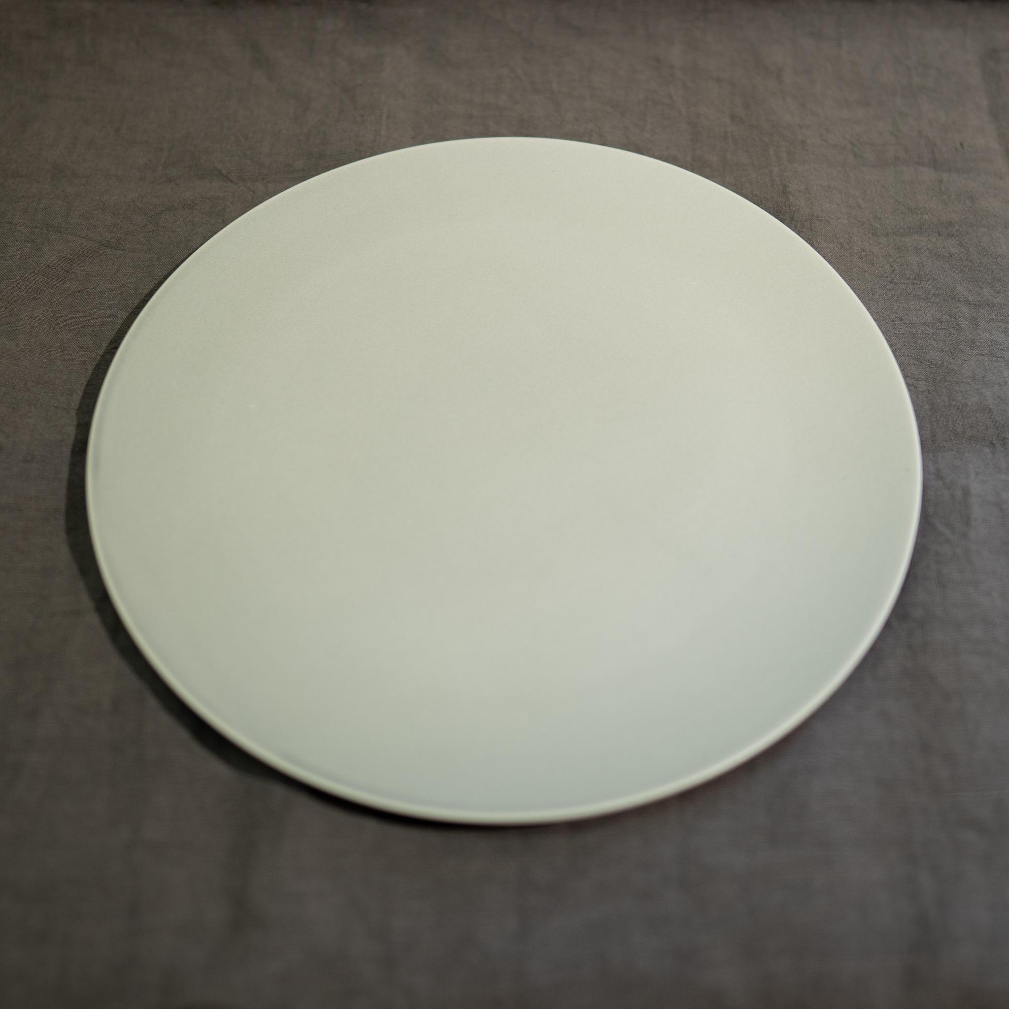 Stone プレート リッチホワイト 28cm
