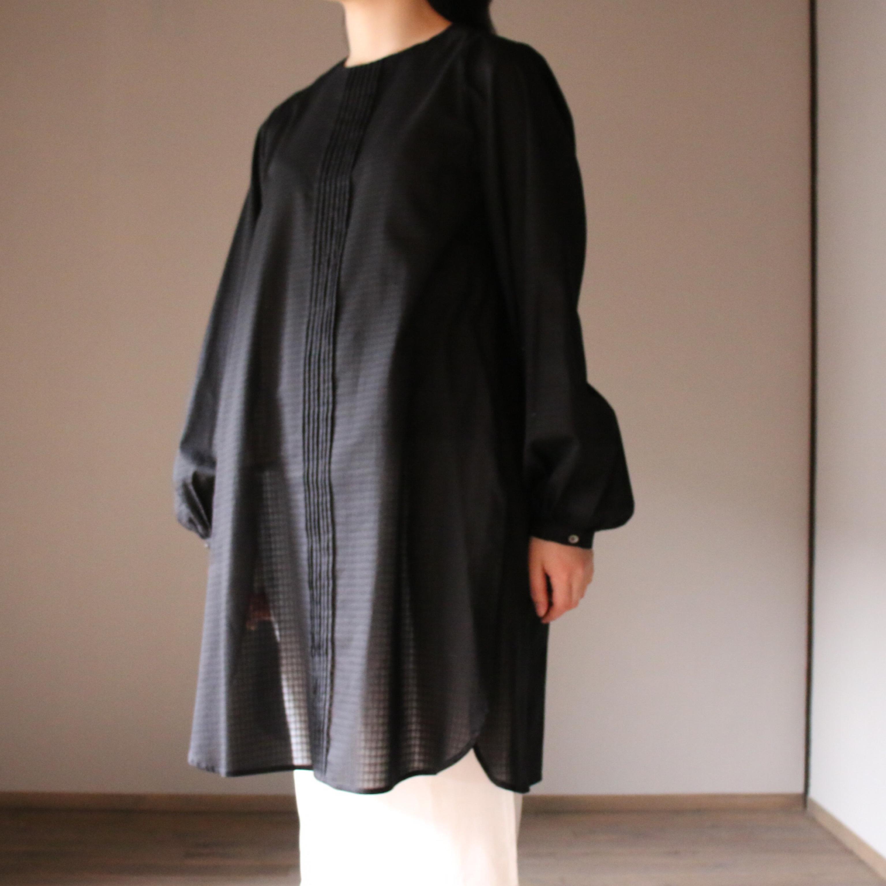 susuri/ススリ ラインブラウス BLACK #20-409