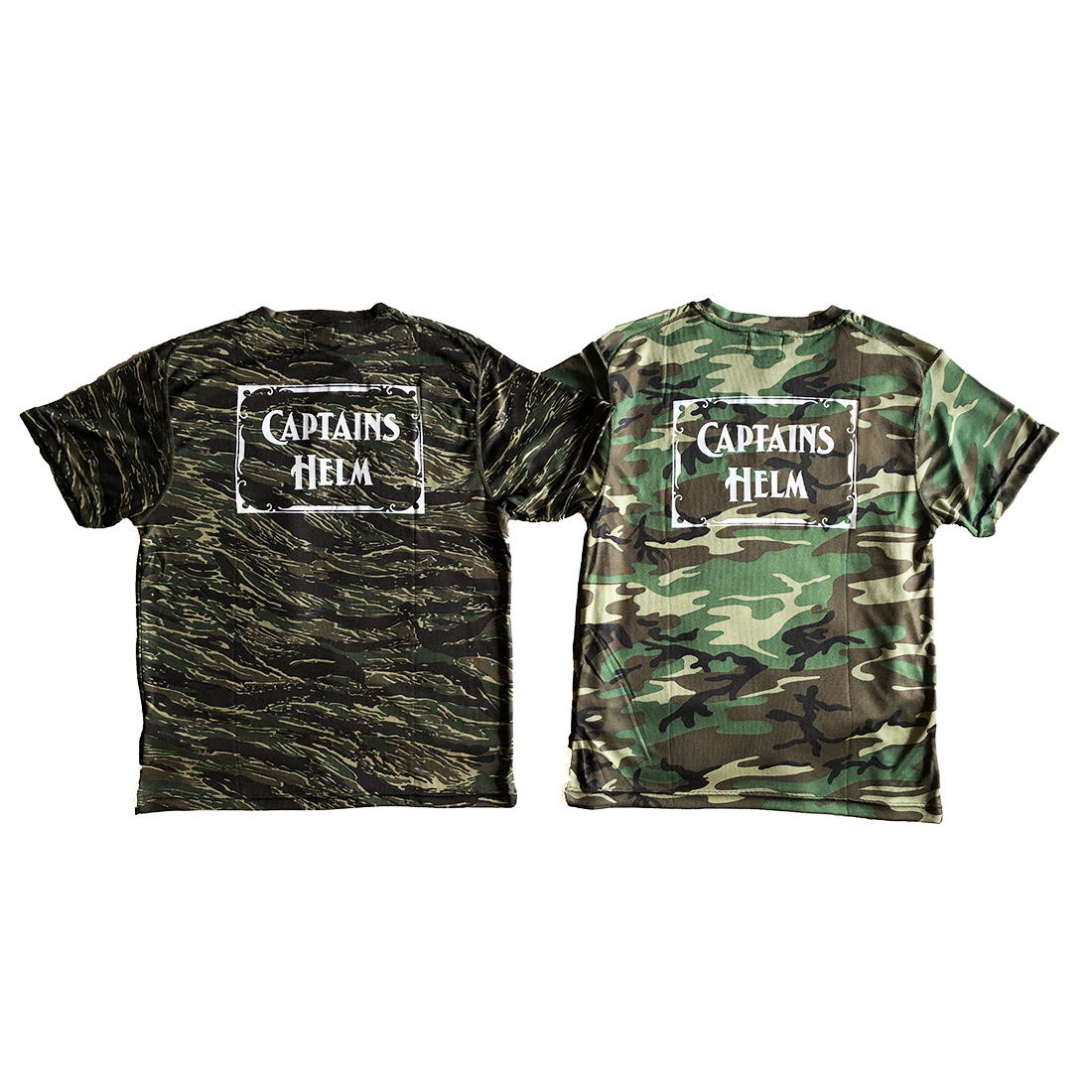 CAPTAINS HELM #Sunguard rash Camo Tee