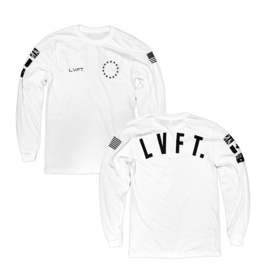 LIVE FIT Athlete Long Sleeve- White