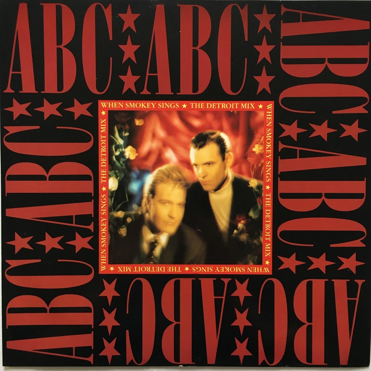 【12inch・英盤】ABC / When Smokey Sings (The Detroit Mix)