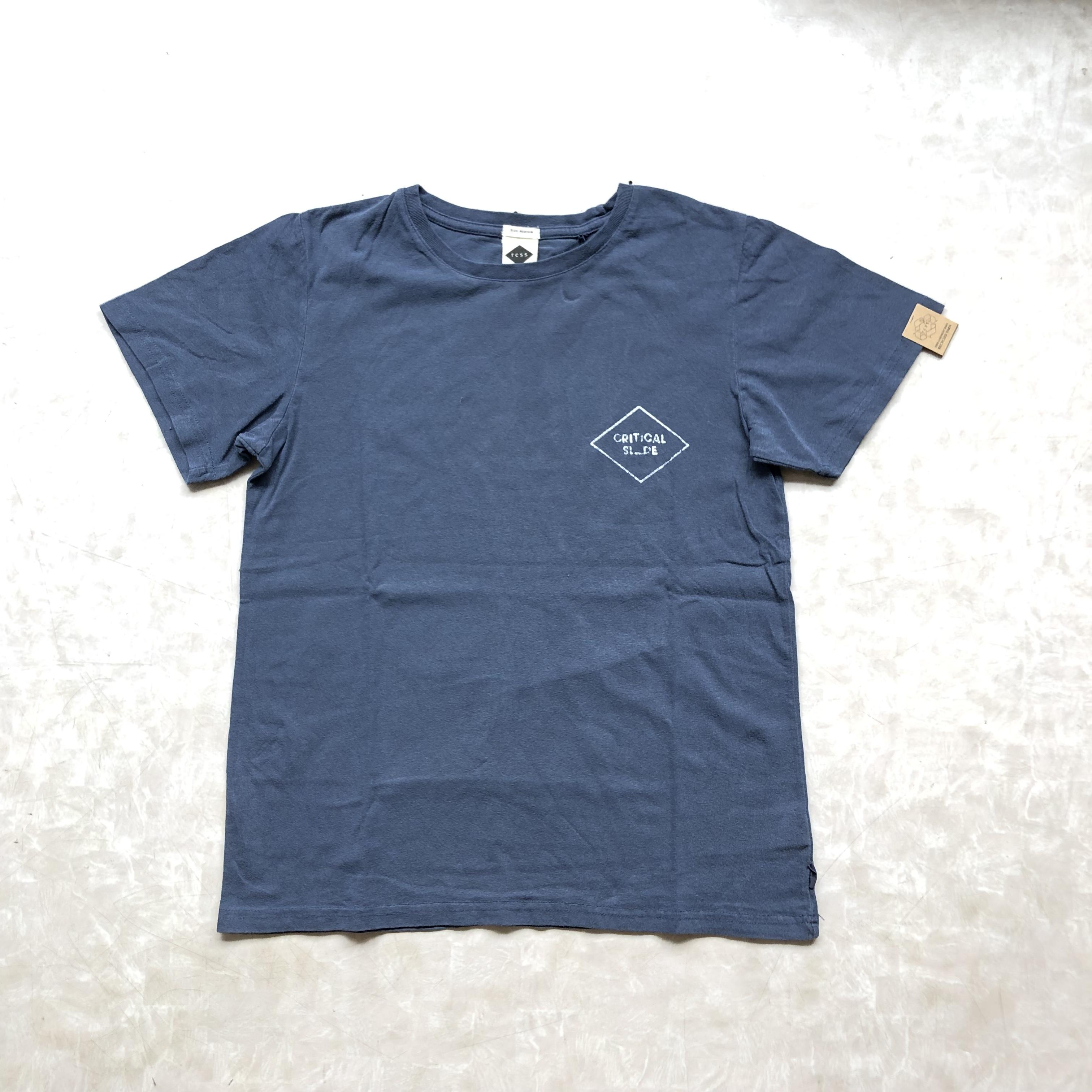 TCSS Critical Slide VOCAL Tシャツ 半袖 ロゴT ネイビー