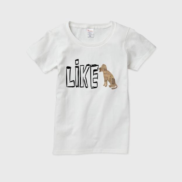 LIKE(イヌ) / レディースTシャツ