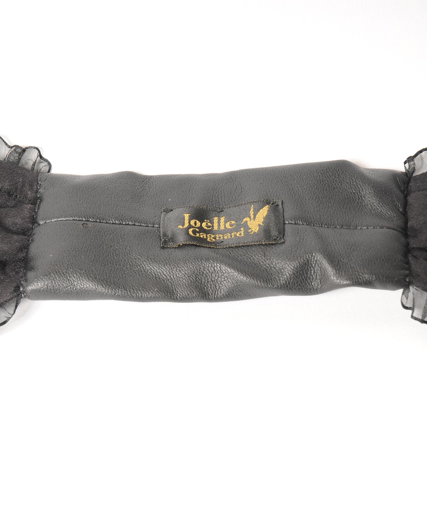 Joe19SS-27 wide wire tie-fril (black)