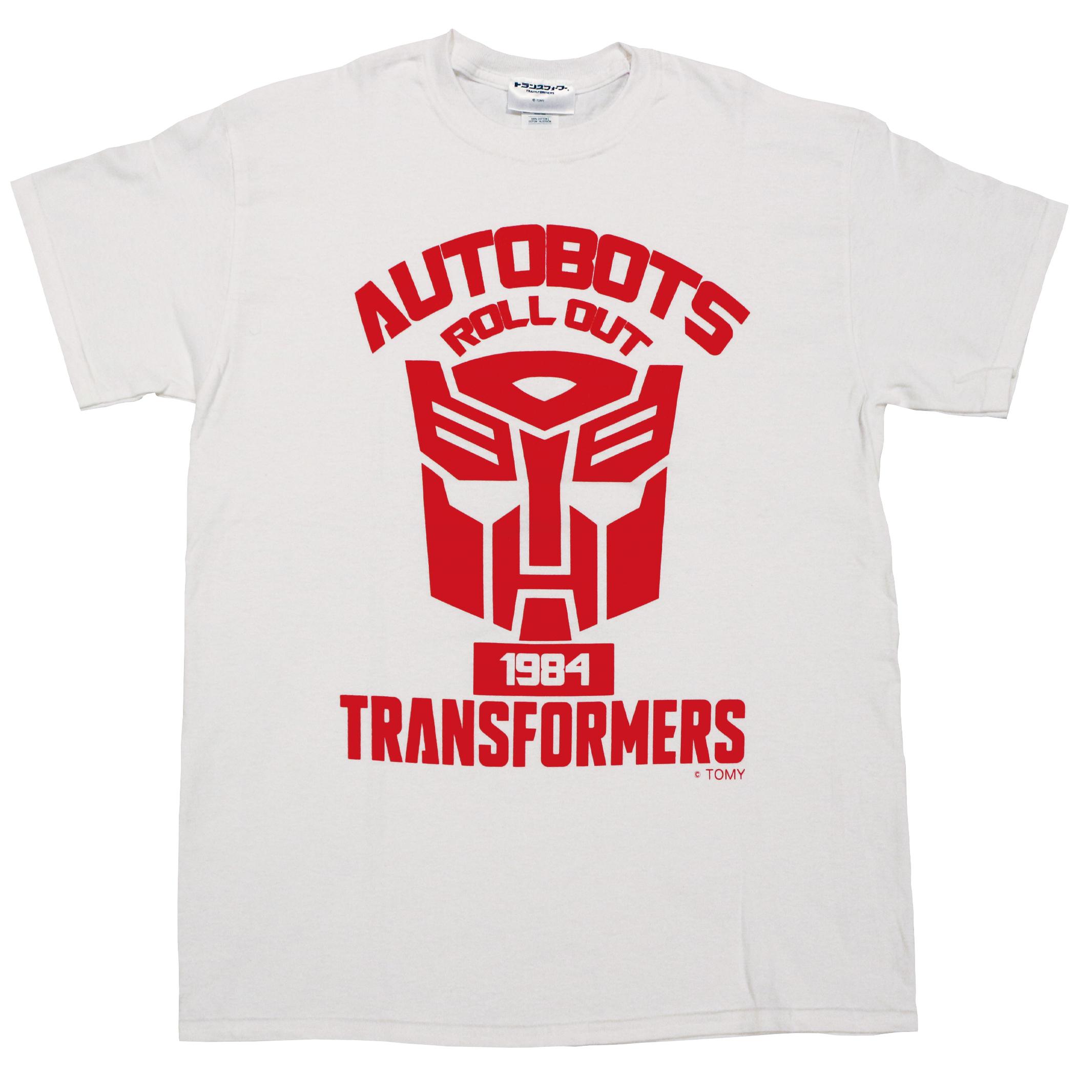【トランスフォーマー】戦え!超ロボット生命体トランスフォーマー|サイバトロンエンブレム Tシャツ(リニューアル版)