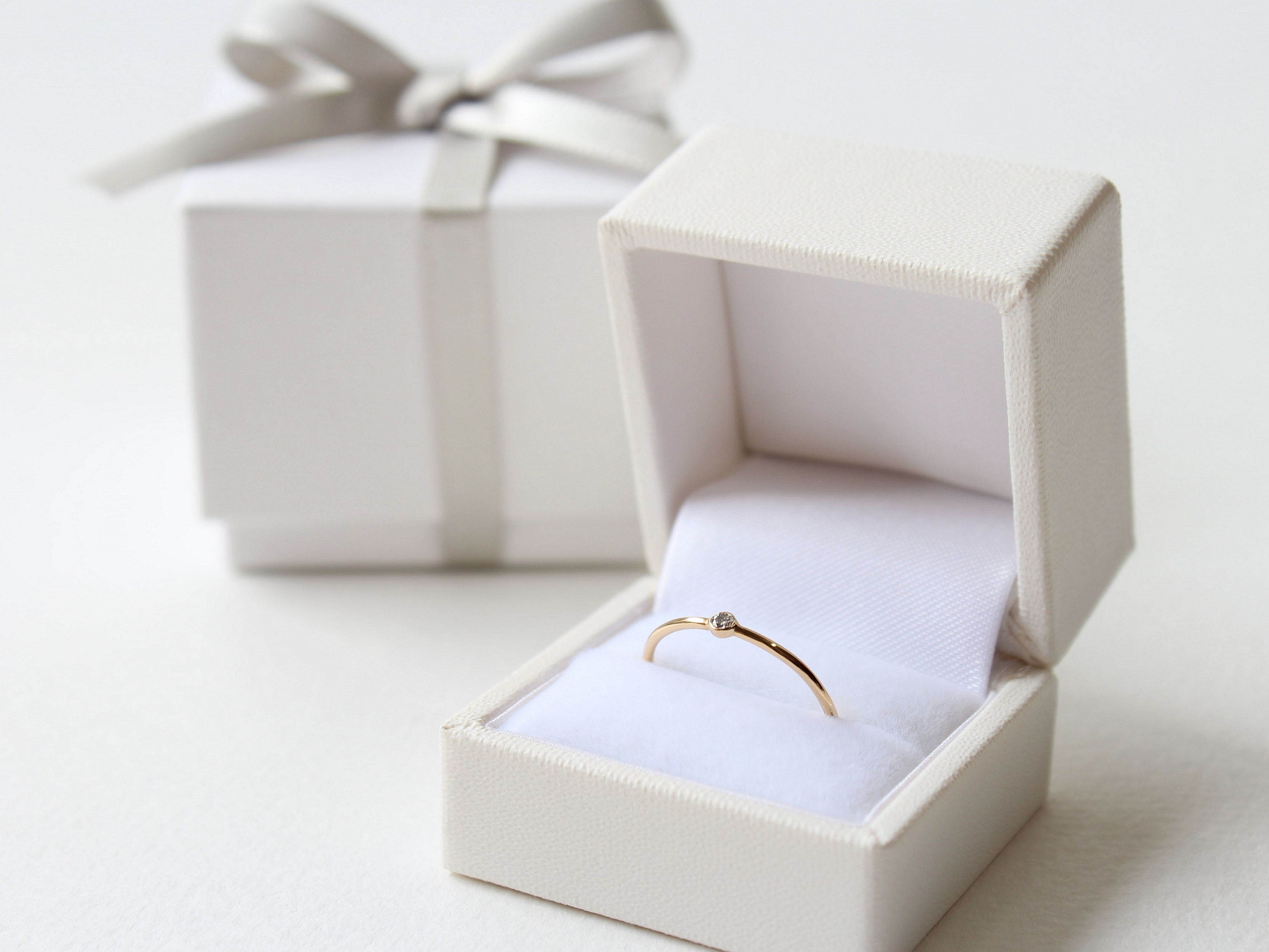 Ring box Gift wrapping