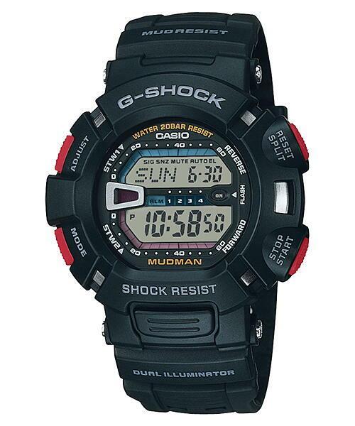 CASIO  カシオ G-SHOCK G-9000-1 防塵・防泥構造 マッドマンメンズ 腕時計